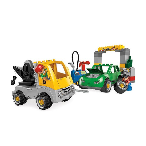 Klocki Lego Duplo Miasto Warsztat Samochodowy 5641 Leg5641 Gugu