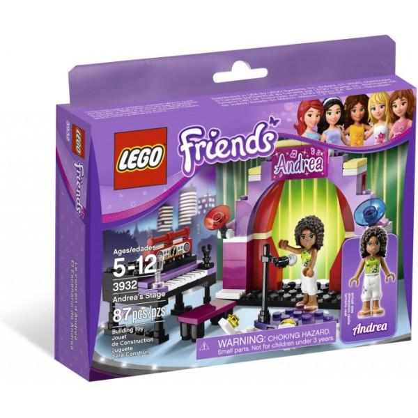 Klocki Lego Friends Sala Koncertowa Andrei 3932 Leg3932 Gugu Zabawki