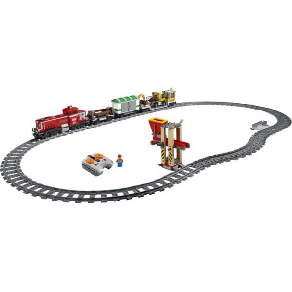 Klocki Lego City Czerwony Pociąg Towarowy 3677 Leg3677 Gugu Zabawki