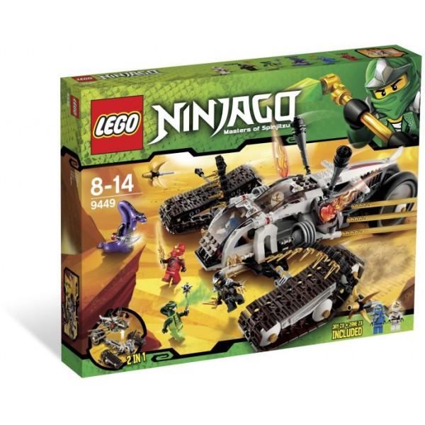 Klocki Lego Ninjago Pojazd Ultradźwiękowy 9449 Leg9449 Gugu Zabawki