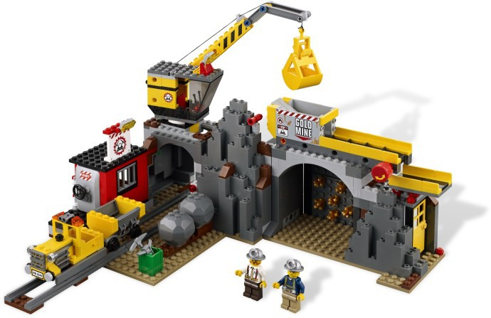 Klocki Lego City Kopalnia Kopalnia 4204 Leg4204 Gugu Zabawki