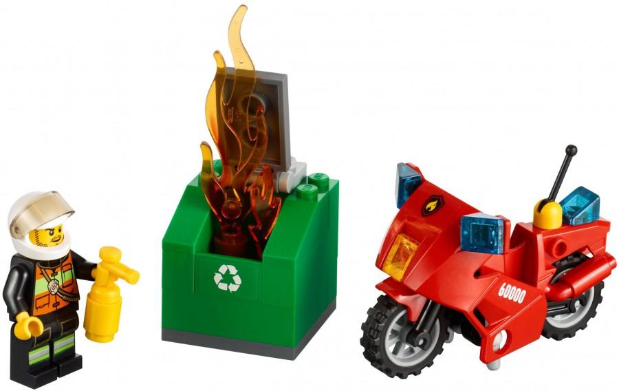 Klocki Lego City Straż Pożarna Motocykl Strażacki 60000 Leg60000