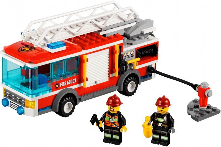 Klocki Lego City Straż Pożarna Wóz Strażacki 60002 Leg60002 Gugu
