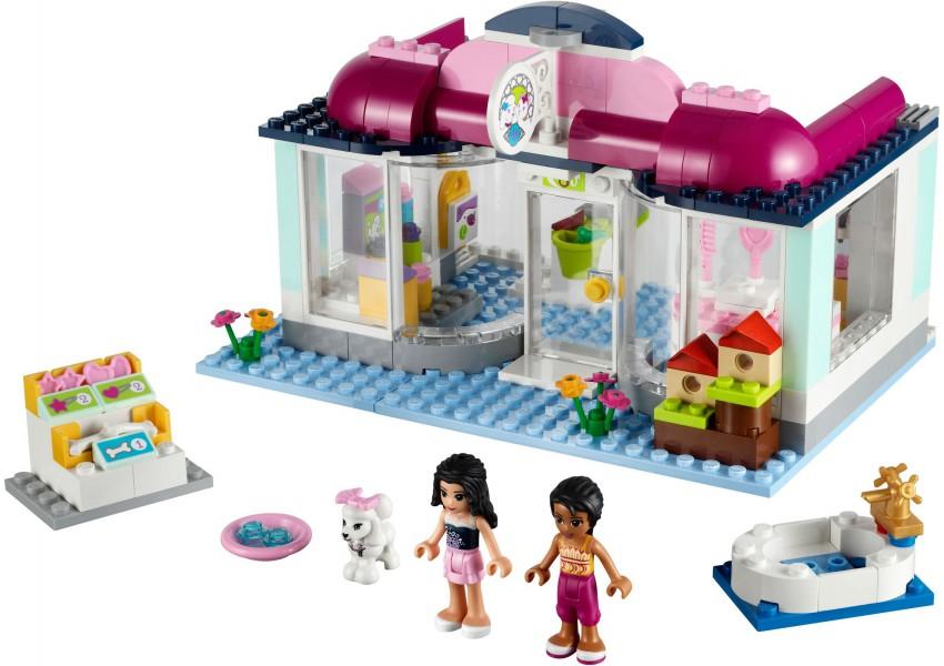Klocki Lego Friends Salon Dla Zwierząt W Heartlake 41007 Leg41007