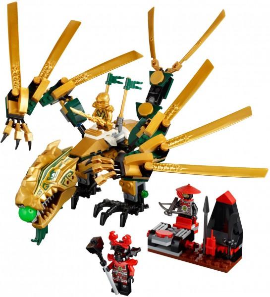 Klocki Lego Ninjago Złoty Smok 70503 Leg70503 Gugu Zabawki