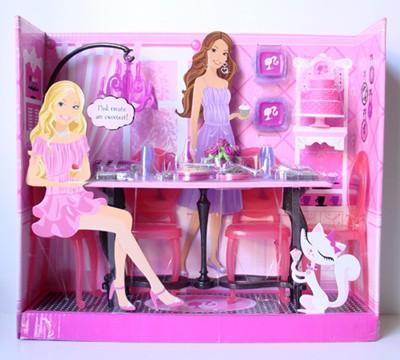 Mattel Barbie Jadalnia Z Akcesoriami M4244 N6498 M4244 N6498 Gugu