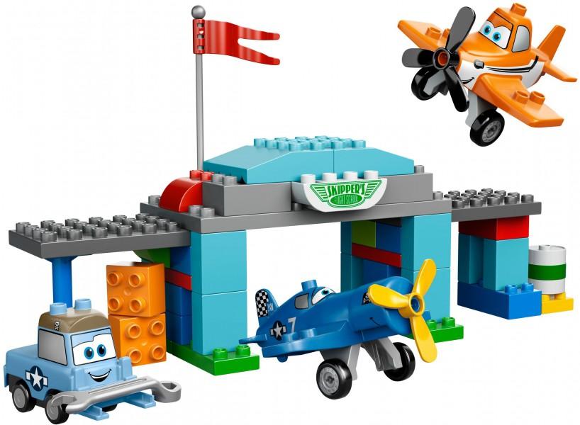 Klocki Lego Duplo Samoloty Szkoła Latania Skippera 10511 Leg10511