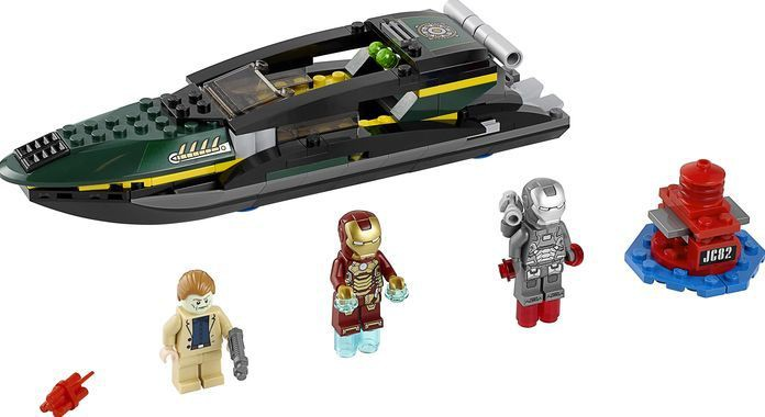 Klocki Lego Super Heroes Iron Man Marvel Bitwa O Port Extremis 76006