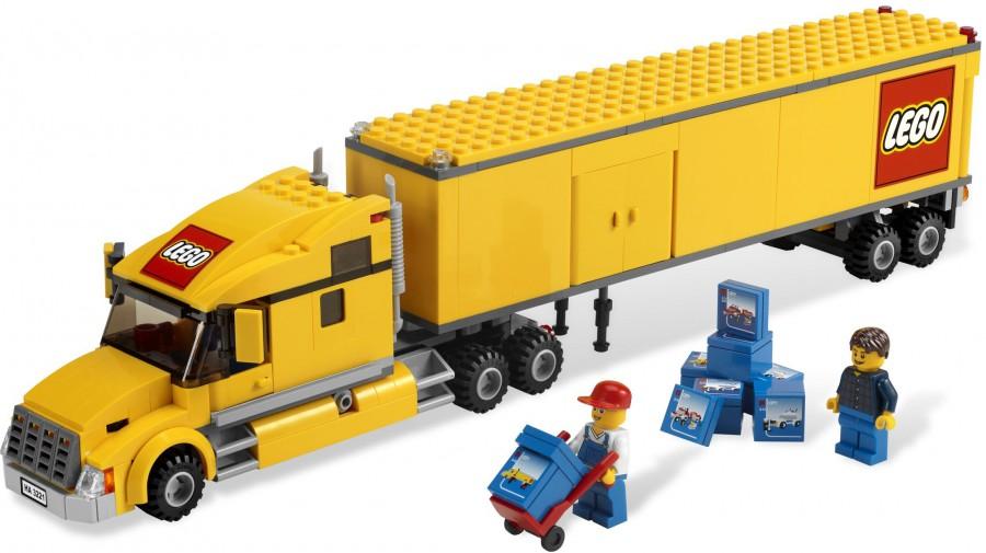 Klocki Lego City Ciężarówka Lego 3221 Leg3221 Gugu Zabawki