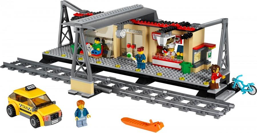 Klocki Lego City Pociągi Dworzec Kolejowy 60050 Leg60050 Gugu Zabawki