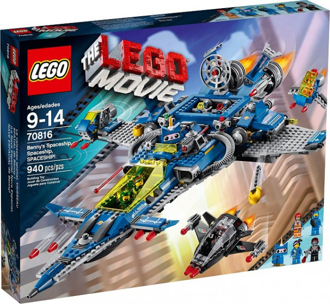 Klocki Lego Movie Kosmiczny Statek Benka 70816 Leg70816 Gugu Zabawki