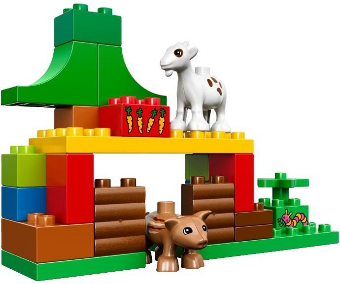 Klocki Lego Duplo Leśne Zwierzęta 10582 Leg10582 Gugu Zabawki