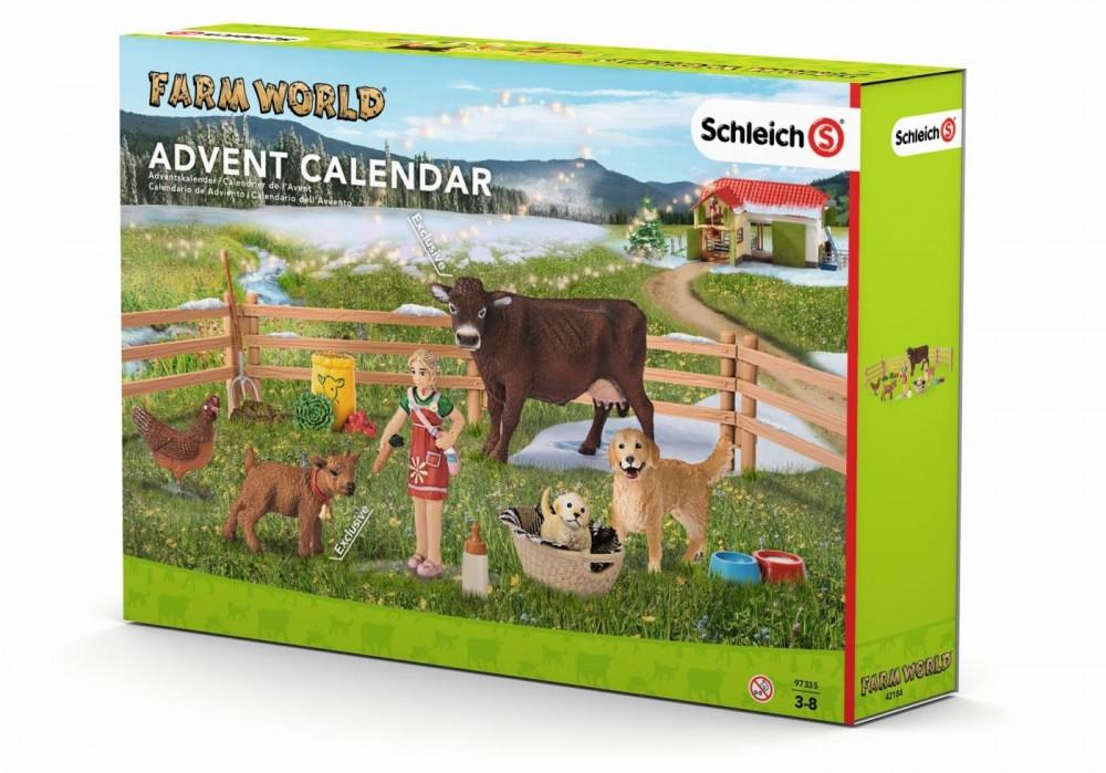 Schleich Kalendarz adwentowy Życie na farmie 97335