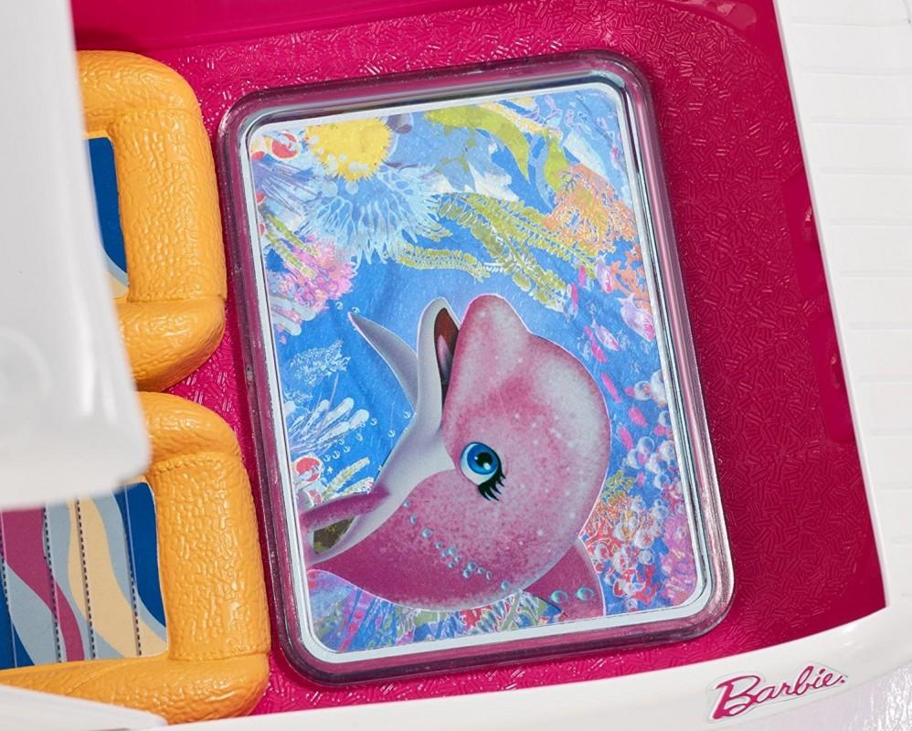 Mattel Barbie Delfiny Z Magicznej Wyspy Wakacyjny Jacht Fbd82 Fbd82 Gugu Zabawki