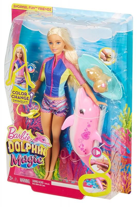 Mattel Barbie Delfiny Z Magicznej Wyspy Nurkowanie Z Delfinem Fbd63