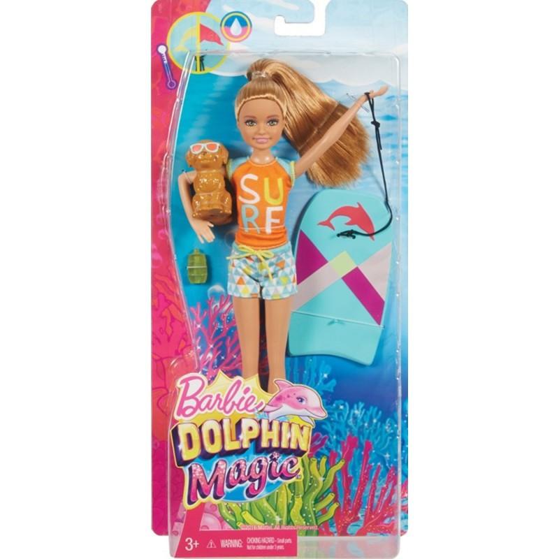 Mattel Barbie Delfiny Z Magicznej Wyspy Siostry Na Wakacjach Stacie