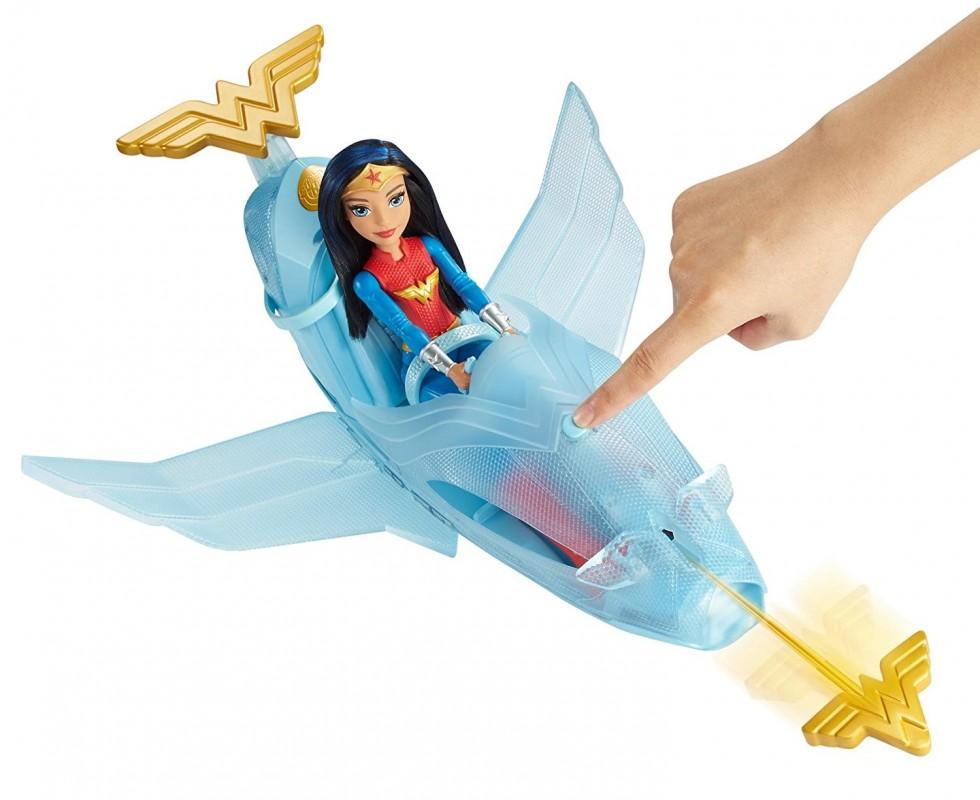 Mattel DC Super Heroes Odrzutowiec Wonder Woman DYN05 DYN05 GUGU