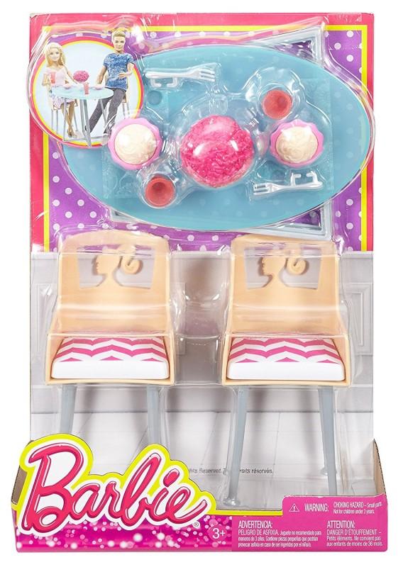 Mattel Barbie Meblelki Jadalnia Dxr91 Dtj68 Dxr91 Dtj68 Gugu Zabawki