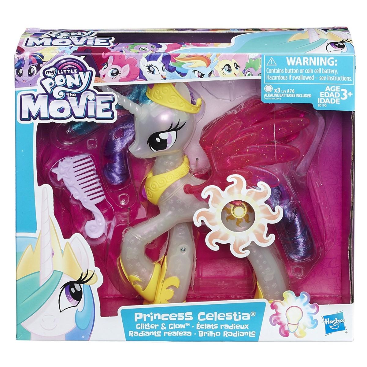 hasbro my little pony błyszcząca księżniczka celestia