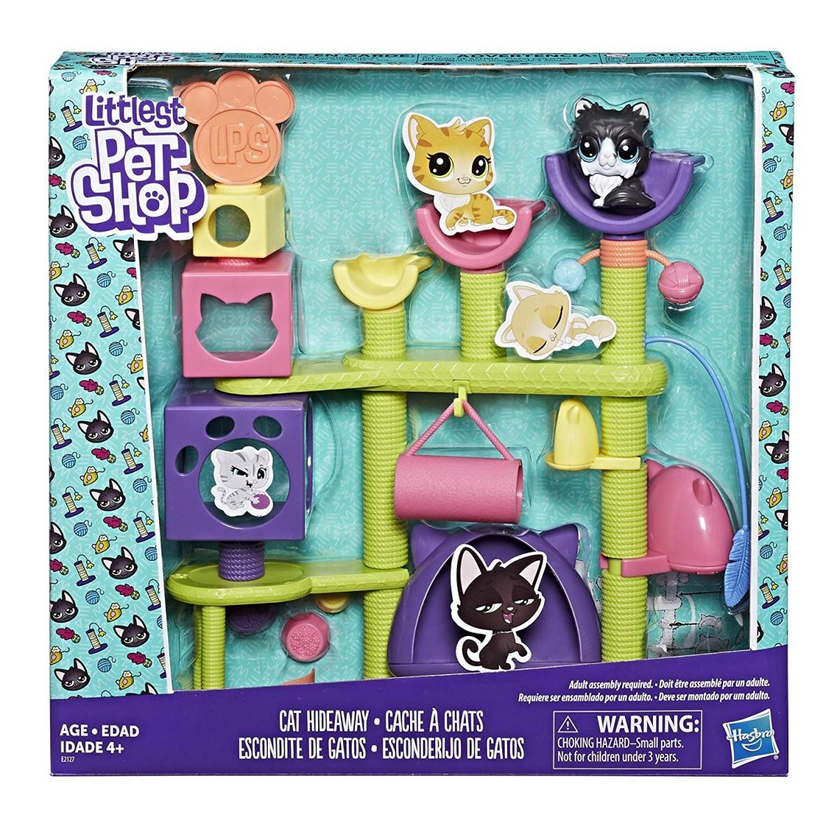 Hasbro Littlest Pet Shop Koci Plac Zabaw E2127 E2127 Gugu Zabawki