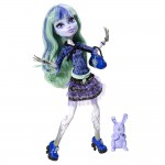Mattel Monster High 13 Życzeń Twyla BBK02 BBK03