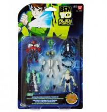Bandai BEN 10 Alien Force Figurki Do Łączenia 5-pack Set 2 97072