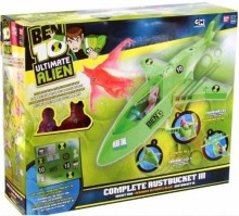 Bandai BEN 10 Ultimate Alien Exclusive DX Gruchot + 2  figurki (3 Mecha pojazdy) 97195