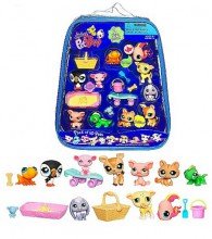 Hasbro Littlest Pet Shop Torebka z 10 Figurkami 90860