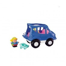 Fisher Price Little People Pojazd z Sąsiedztwa Auto Terenowe J0889 J0891