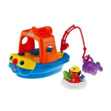 Fisher Price Little People Pojazd z Sąsiedztwa Statek J0889 M1281
