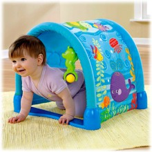 Fisher Price Ocean Wonders Błękitny Tunel P5331