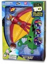 Bandai BEN 10 Alien Force Figurka 2 w 1 20 cm 27570 27572