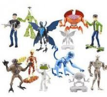 Bandai BEN 10 Alien Force Zestaw 10 figurek 97115