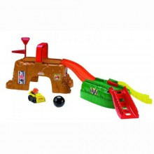Fisher Price Little People W Kółkowicach Plac Budowy V2748 V2749