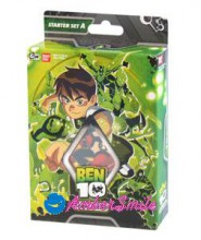 Bandai BEN 10 Karty do gry Starter A 93218