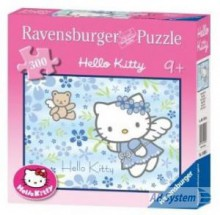 Ravensburger - Hello Kitty: Kitty aniołek 300el.