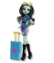 Mattel Monster High Lalka z filmu Upioryż Miasto Strachu Wyprawa do Upioryża Frankie Stein Y7661 Y7665