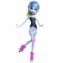 Mattel Monster High Upiorni Uczniowie na rolkach Lalka Abbey Bominable X3671 Y8349