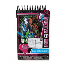 Fashion Angels Monster High Zestaw Widokówek z Flamastrami 64028