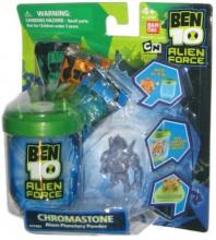 Bandai BEN 10 Alien Force Kosmiczny Proszek-Żel Chromastone 27680 27512