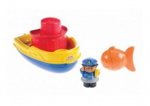 Fisher Price Little People Pływający Statek X0059