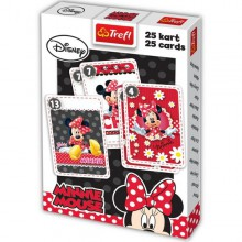 Trefl Karty Piotruś Minnie 08294
