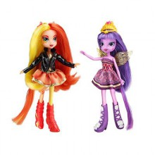 Hasbro My Little Pony Equestria Sunset Shimmer & Twilight Sparkle A3997