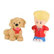 Fisher Price Little People Figurki Eddie i Pies Y8204 BBF08