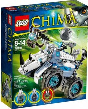Klocki Lego Legends Of Chima Miotacz Skał Rogona 70131