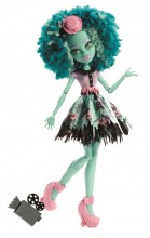 Mattel Monster High Strach Kamera Akcja Honey Swamp BLX17 BLX19