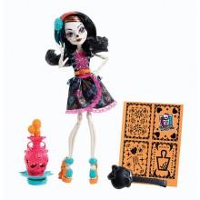 Mattel Monster High Upiorna Sztuka Skelita Calaveras BDF11 BDF14