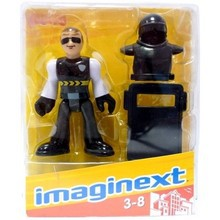 Fisher Price Imaginext Figurka Policjant R4320 R4325