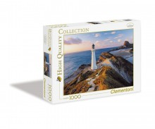 Clementoni Puzzle High Quality Collection New Zealand Lighthouse 1000 Elementów 39236