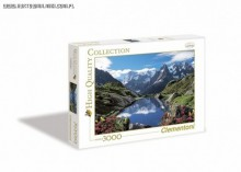 Clementoni Puzzle High Quality Collection Chamonix Valley 3000 Elementów 33538